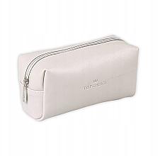 Parfums et Produits cosmétiques Trousse de toilette Leather, 96945, blanche - Top Choice