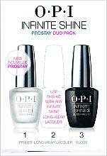 Parfums et Produits cosmétiques O.P.I Infinite Shine Duo Pack - Set (base pour vernis à ongles/1pcs + top coat à effet brillant/1pcs)