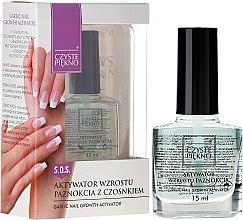 Parfums et Produits cosmétiques Vernis soin activateur de croissance - Czyste Piekno Garlic Nail Growth Activator