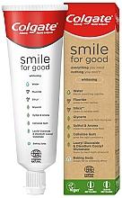 Parfums et Produits cosmétiques Dentifrice blachissant bio - Colgate Smile For Good Whitening Toothpaste