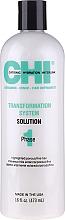 Parfums et Produits cosmétiques Système de lissage permanent pour cheveux resistants et vierges, Phase 1 - CHI Transformation Solution Formula C