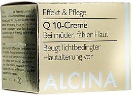 Crème à la coenzyme Q10 et vitamine E pour visage - Alcina Q 10 Creme — Photo N1