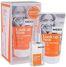 Parfums et Produits cosmétiques Mexx Look Up Now for Her - Set (eau de toilette/30ml + lotion corporelle/150ml)