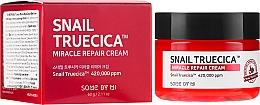 Parfums et Produits cosmétiques Crème à la bave d'escargot et céramides pour visage - Some By Mi Snail Truecica Miracle Repair Cream