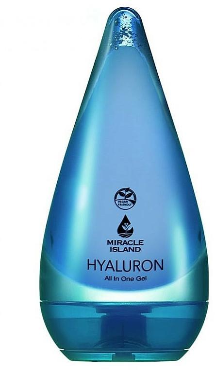 Gel à l'acide hyaluronique pour visage et corps - Miracle Island