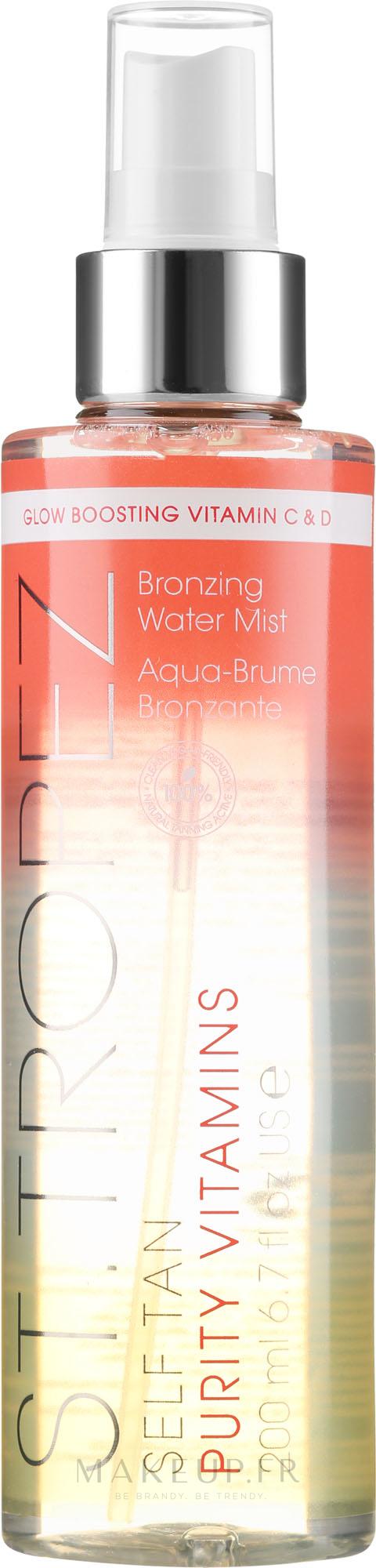 Brume auto-bronzante aux vitamines C et D pour corps - St. Tropez Self Tan Purity Vitamins Bronzing Water Body Mist — Photo 200 ml