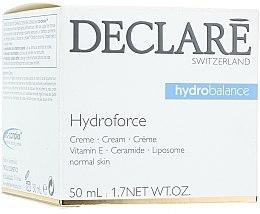 Parfums et Produits cosmétiques Crème à la vitamine E pour visage - Declare Hydroforce Cream