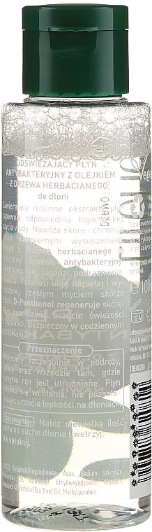 Liquide antibactérien à l'huile d'arbre à thé pour mains - Lirene — Photo N2