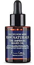 Parfums et Produits cosmétiques Huile à barbe - Recipe For Men RAW Naturals The Imperial Beard Oil