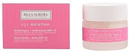 Parfums et Produits cosmétiques Crème raffermissante anti-rides pour visage - Bella Aurora Age Solution Antiwrinkle And Firming SPF15
