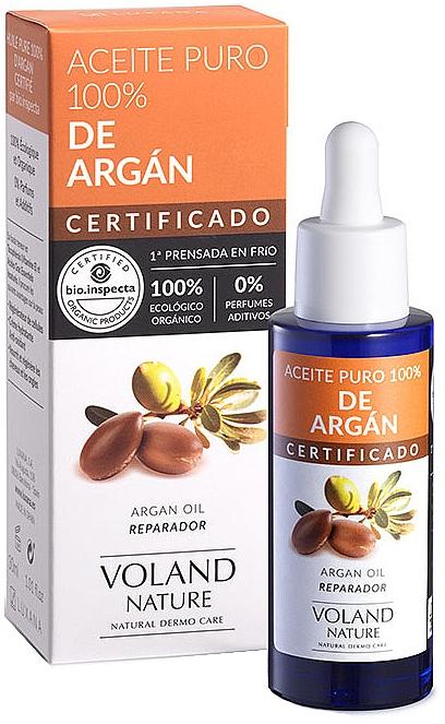 Huile d'argan 100% naturelle - Voland Nature Aragan Oil — Photo N1
