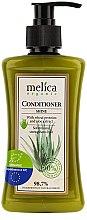 Parfums et Produits cosmétiques Après-shampooing aux protéines de blé et aloès - Melica Organic Shine Conditioner
