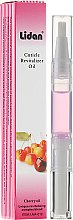 Parfums et Produits cosmétiques Stylo huile revitalisante pour cuticules, senteur cerise - Lidan Curticle Revitalizer Cherry Oil