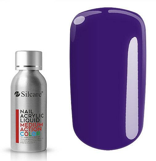 Vernis à ongles acrylique - Silcare Nail Acrylic Liquid Medium Action Color