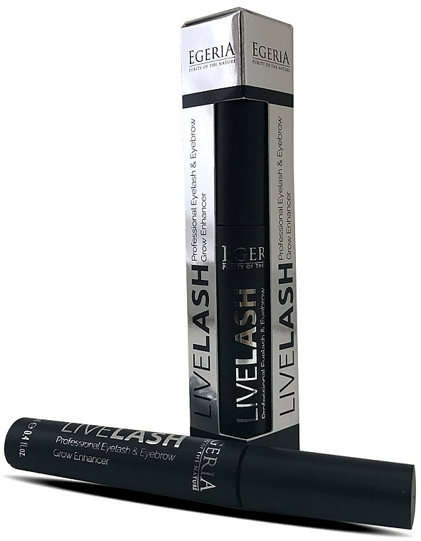 Sérum sourcils et cils - Egeria Livelash Eyelash & Eyebrow Grow Enhancer