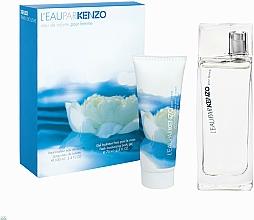Parfums et Produits cosmétiques Kenzo L'Eau Par Kenzo Pour Femme - Coffret (eau de toilette/100ml + gel pour le corps/75ml)