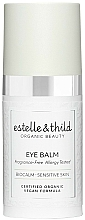 Parfums et Produits cosmétiques Baume anti-fatigue à l'huile de graines de jojoba pour contour des yeux - Estelle & Thild BioCalm Eye Balm