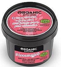 Parfums et Produits cosmétiques Crème naturelle rafraîchissante pieds, anti-fatigue - Organic Shop Organic Kitchen Foot Cream