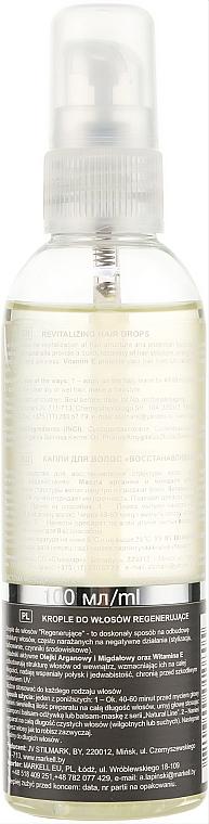 Gouttes revitalisantes pour cheveux - Markell Cosmetics Natural Line  — Photo N2
