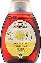 Parfums et Produits cosmétiques Huile de bain au clou de girofle et citron - Green Pharmacy