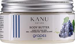 Parfums et Produits cosmétiques Beurre au karité pour corps, Raisin grec - Kanu Nature Greek Grape Body Butter