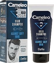 Parfums et Produits cosmétiques Shampooing anti-cheveux gris pour homme - Delia Cameleo Men Against Grey Hair Shampoo