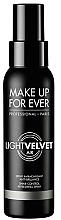 Parfums et Produits cosmétiques Spray matifiant et fixateur de maquillage - Make Up For Ever Light Velvet Air Shine-Control Refreshing Spray