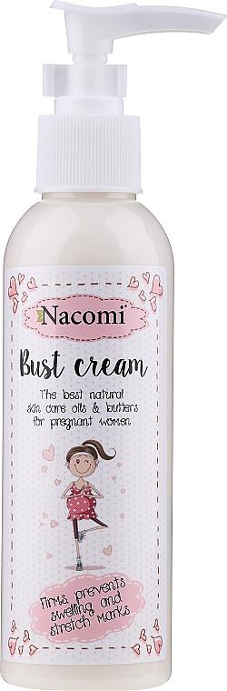 Crème à l'extrait de beurre de cacao et glycérine pour buste - Nacomi Pregnant Care Bust Cream