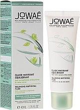 Parfums et Produits cosmétiques Fluide matifiant aux lumiphénols antioxydants et lotus sacré pour visage - Jowae Balancing Matifying Fluid