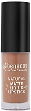 Parfums et Produits cosmétiques Rouge à lèvres liquide mat - Benecos Natural Matte Liquid Lipstick