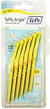 Parfums et Produits cosmétiques Brossettes interdentaires - TePe Interdental Brushes Angle Yellow 0,7mm