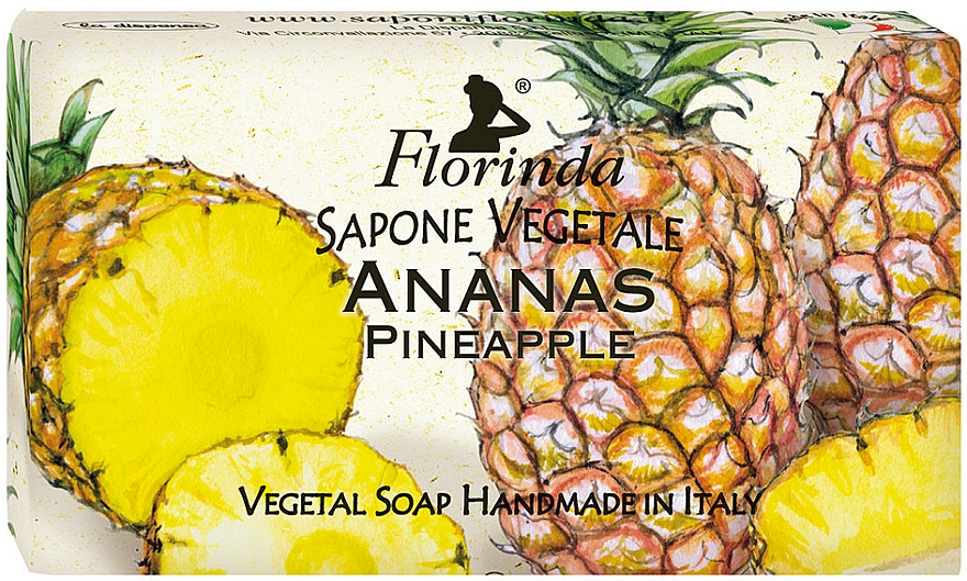 Savon végétal, Ananas - Florinda Pineapple Natural Soap — Photo N1
