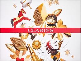 Parfums et Produits cosmétiques Clarins Multi-Active Collection - Coffret cadeau(crème de jour/50ml + crème de nuit/15ml+baume/15ml+tousse de toilette)