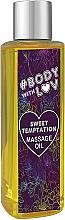 Parfums et Produits cosmétiques Huile de massage Douce tentation - New Anna Cosmetics Body With Luv Massage Oil Sweet Temptation