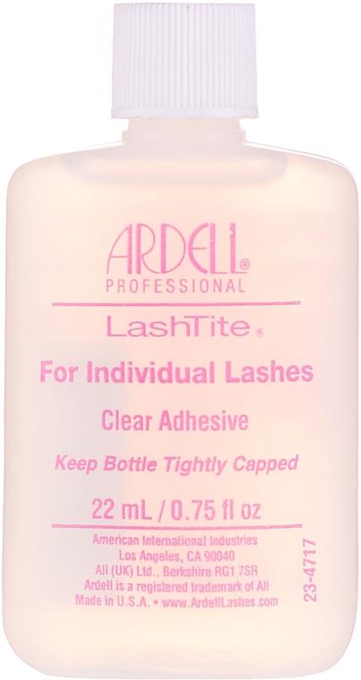 Colle transparente pour les cils de faisceau - Ardell LashTite Adhesive Clear
