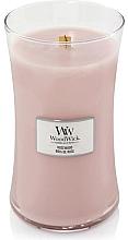 Parfums et Produits cosmétiques Bougie parfumée en jarre avec mèche en bois, Bois de rose - WoodWick Hourglass Candle Rosewood