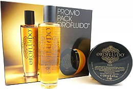 Orofluido Promo Pack - Set (élixir/100ml+masque pour cheveux/250ml) — Photo N2