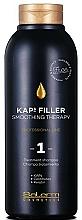 Parfums et Produits cosmétiques Shampooing à la kératine - Salerm Kaps Filler Smoothing Therapy Shampoo