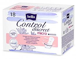 Parfums et Produits cosmétiques Serviettes hygiéniques pour fuites urinaires - Bella Control Discreet Micro Bladder Control Pads