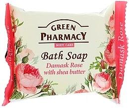 Parfums et Produits cosmétiques Savon à la rose de Damas et beurre de karité - Green Pharmacy