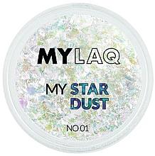 Parfums et Produits cosmétiques Paillettes pour ongles - MylaQ My Star Dust
