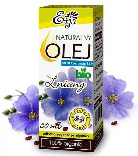 Huile essentielle de lin - Etja Natural Oil