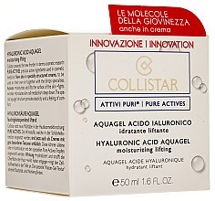 Parfums et Produits cosmétiques Aquagel à l'acide hyaluronique pour le visage - Collistar Pure Actives Moisturizing Acid Aquagel