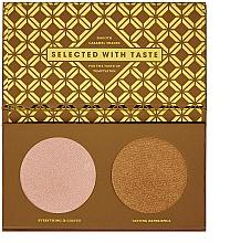 Parfums et Produits cosmétiques Palette d'ombres à paupières - Zoeva Caramel Melange Highlighter