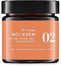 Parfums et Produits cosmétiques Crème aux céramides et huile de macadamia pour visage - Fitomed Cream With Ceramides And Lecithin Nr2