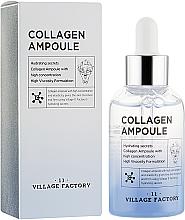Parfums et Produits cosmétiques Sérum de collagène en ampoule à l'extrait d'herbe du tigre pour visage - Village 11 Factory Collagen Ampoule
