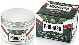 Parfums et Produits cosmétiques Crème avant-rasage au menthol et eucalyptus - Proraso Green Pre Shaving Cream