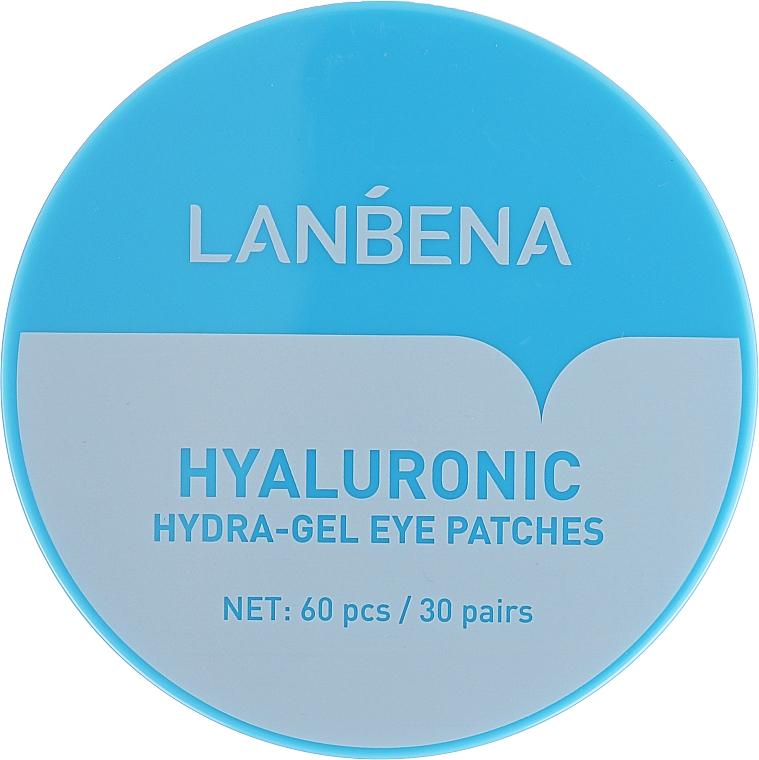 Patchs hydrogel à l'acide hyaluronique contour des yeux - Lanbena Hyaluronic Acid Collagen Gel Moisturizing Eye Patch