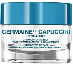 Parfums et Produits cosmétiques Crème à l'acide hyaluronique pour visage - Germaine de Capuccini Hydracure Hydractive Cream