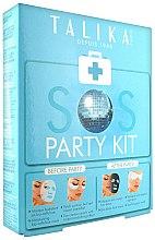 Parfums et Produits cosmétiques Kit masques tissu visage - Talika SOS Party Kit (masque/20g + masque des yeux à la feuille/2x2pcs. + masque/25g)